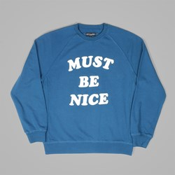 RIP N DIP MBN CHILL OUT CREW SWEAT BLUE