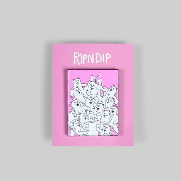 RIP N DIP MOSH PIT PIN BADGE