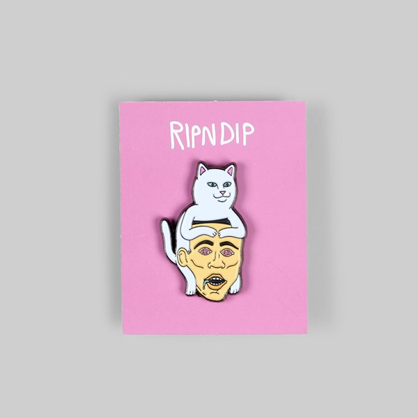 RIP N DIP NERM HAT PIN BADGE
