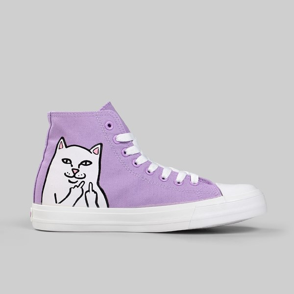 RIP N DIP NERM HIGH TOP TRAINER LAVENDER