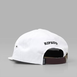 RIP N DIP NERMAL BANANA SIX PANEL CAP WHITE