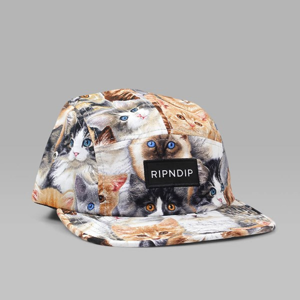RIP N DIP NERMAL CAMP CAP ALLOVER PRINT