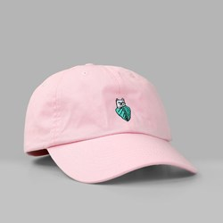 RIP N DIP NERMAL LEAF DAD CAP LIGHT PINK