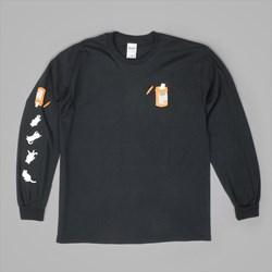 RIP N DIP NERMAL PILLS LONGSLEEVE T SHIRT BLACK
