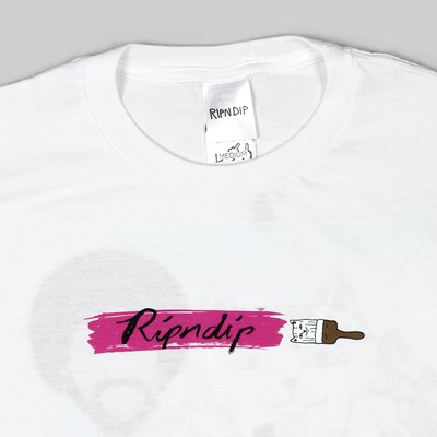 RIP N DIP ROSS SS T-SHIRT WHITE