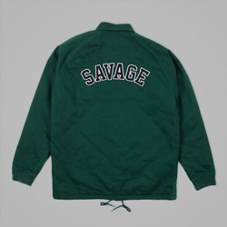 RIP N DIP SAVAGE ZIP UP JACKET FOREST GREEN