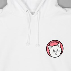 RIP N DIP STOP BEING A PUSSY PULLOVER HOOD WHITE