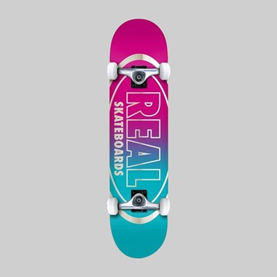 REAL SKATEBOARDS COMPLETE GOLDEN OVAL XL 8.25