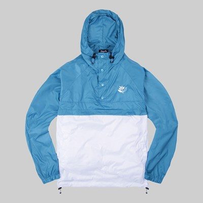 MAGENTA RETRACTABLE JACKET BABY BLUE
