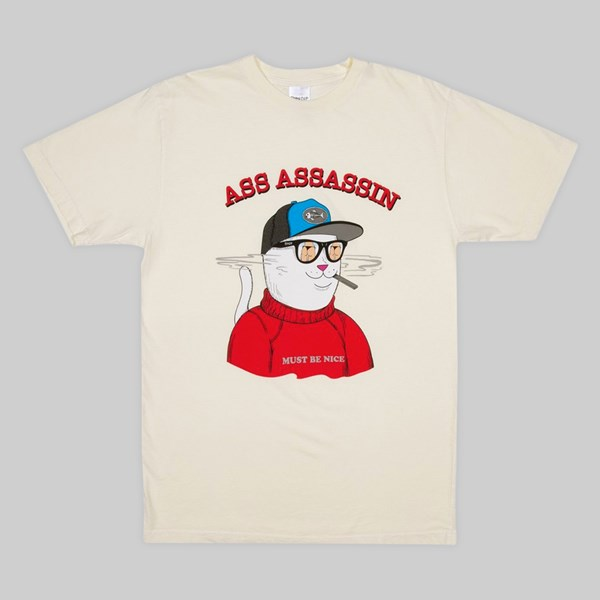 RIP N DIP ASS ASSASSIN SS T-SHIRT VINTAGE WHITE