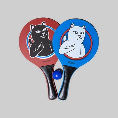 RIP N DIP PADDLE UP PADDLE BALL SET BLUE RED
