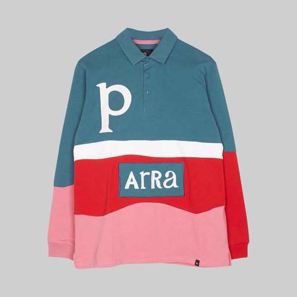 BY PARRA MEADOWS LS RUGBY SHIRT MULTI