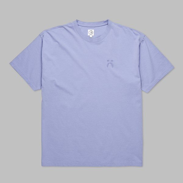POLAR SKATE CO. HAPPY SAD GARMENT DYED TEE PURPLE