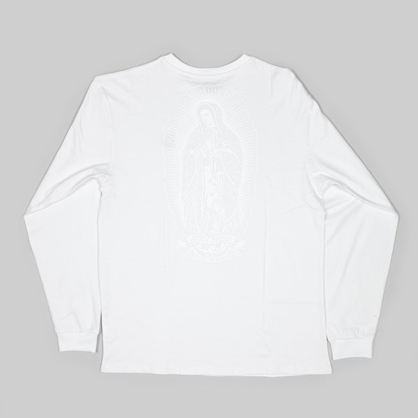 SANTA CRUZ GHOST LADY LS T-SHIRT WHITE