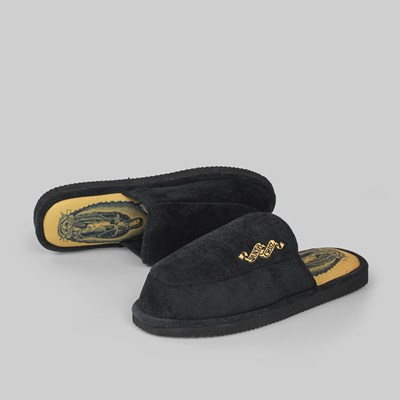 SANTA CRUZ GUADALUPE HOUSE SLIPPER BLACK
