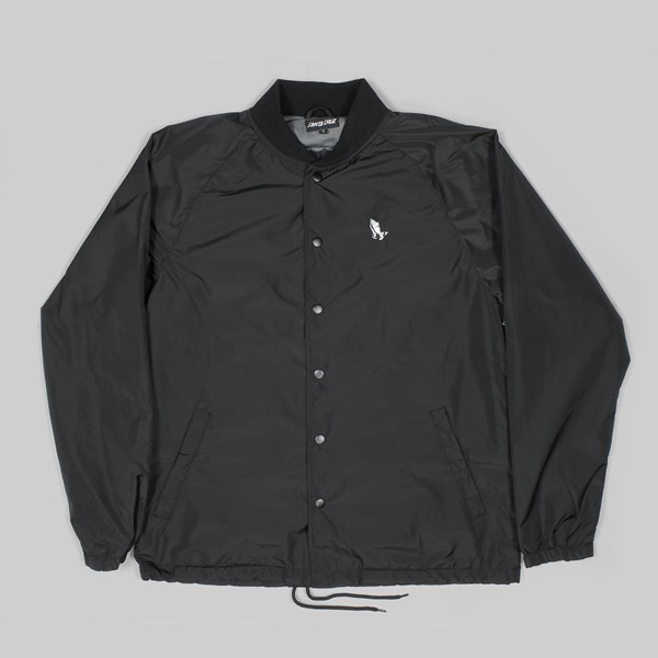 SANTA CRUZ PRAY FOR ME JACKET BLACK