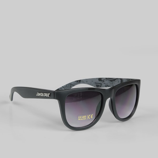 SANTA CRUZ SUNGLASSES GHOST LADY BLACK