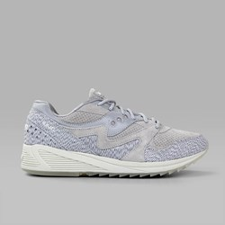 SAUCONY GRID 8000 CL 'DIRTY SNOW II' WHITE BLACK