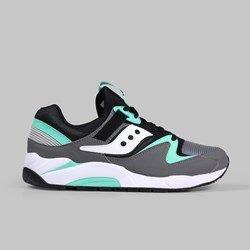 SAUCONY GRID 9000 GREY BLACK MINT