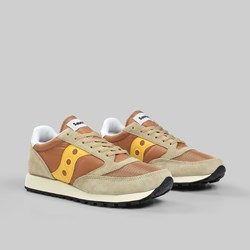 SAUCONY JAZZ ORIGINAL VINTAGE TAN YELLOW