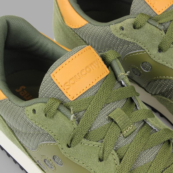 SAUCONY ORIGINALS DXN TRAINER OLIVE