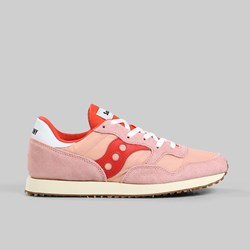 SAUCONY ORIGINALS DXN TRAINER VINTAGE PINK BERRY