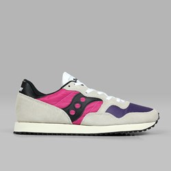 SAUCONY ORIGINALS DXN VINTAGE WHITE PINK PURPLE
