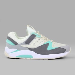 SAUCONY ORIGINALS GRID 9000 TAN CHARCOAL MINT
