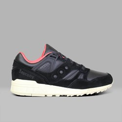 SAUCONY ORIGINALS GRID SD 'PUBLIC GARDENS' OILED BLACK