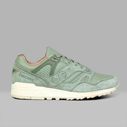 SAUCONY ORIGINALS GRID SD 'PUBLIC GARDENS' OILED GREEN