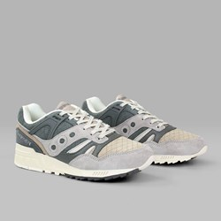 SAUCONY ORIGINALS GRID SD 'QUILT PACK' GREY TAN