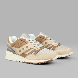 SAUCONY ORIGINALS GRID SD 'QUILT PACK' TAN GREY