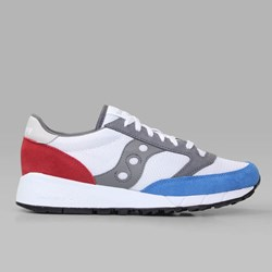 SAUCONY ORIGINALS JAZZ 91 WHITE RED BLUE