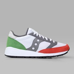 SAUCONY ORIGINALS JAZZ 91 WHITE RED GREEN