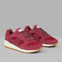 SAUCONY ORIGINALS SHADOW 5000 'WEAVE PACK' MAROON