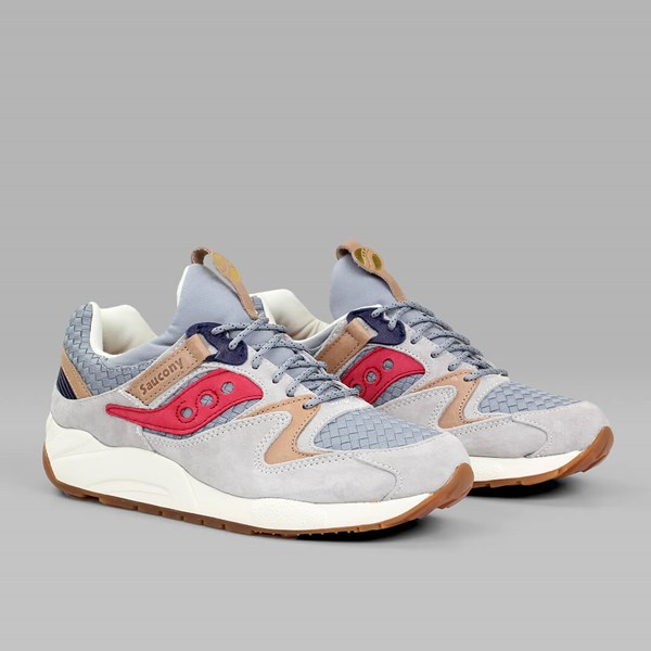 SAUCONY SELECT GRID 9000 'LIBERTY' PACK GREY