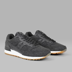 SAUCONY SELECT 'LETTERMAN II' SHADOW 5000 BLACK