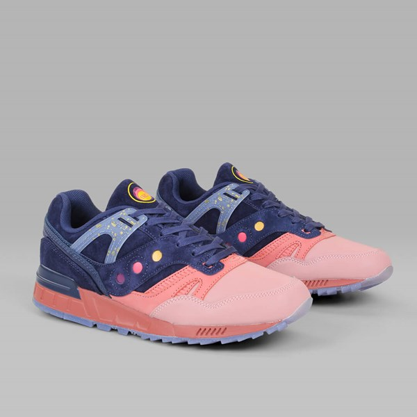 SAUCONY SELECT 'SUMMER NIGHTS' GRID SD BLUE PINK