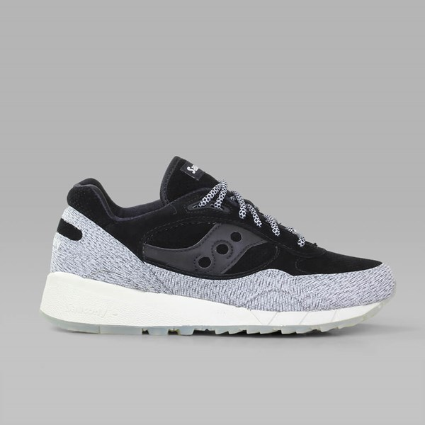 new style 40e6e 8556c SAUCONY SHADOW 6000 'DIRTY SNOW II' WHITE BLACK ...