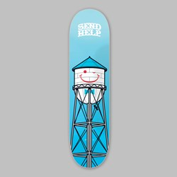 SEND HELP 'SMILEY' DECK 8.5""