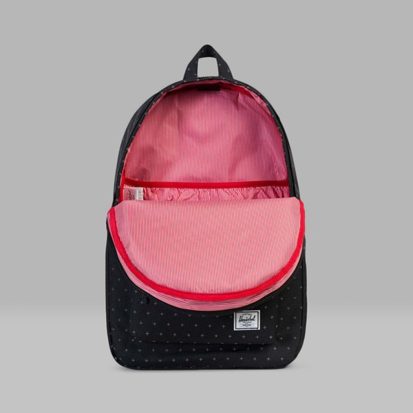 HERSCHEL SETTLEMENT BACKPACK BLACK GRIDLOCK