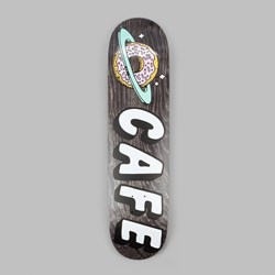 SKATEBOARD CAFE PLANET DONUT DECK BLACK 8.5""