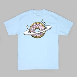 SKATEBOARD CAFE PLANET DONUT TEE POWDER BLUE