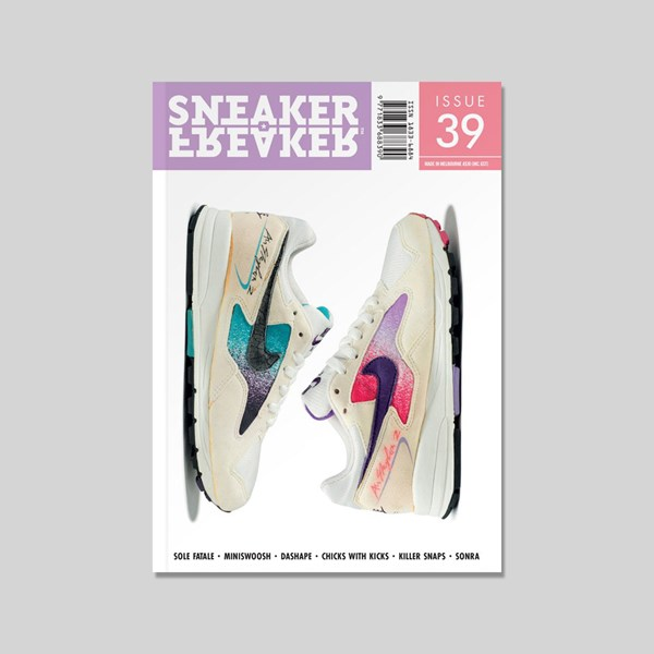 SNEAKER FREAKER MAGAZINE ISSUE 39