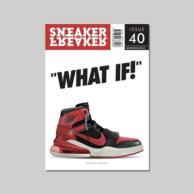 SNEAKER FREAKER MAGAZINE ISSUE 40