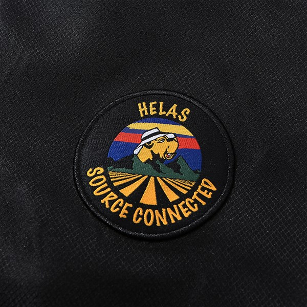 HELAS SOURCE QUARTER ZIP BLACK