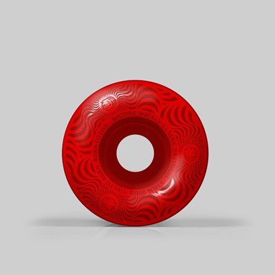 SPITFIRE WHEELS MULTISWIRL RED 53MM