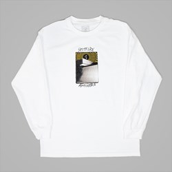 SPITFIRE X ANTI HERO CARDIEL CARWASH LS TEE WHITE