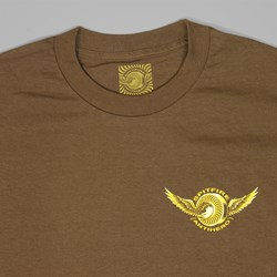 SPITFIRE X ANTI HERO CLASSIC EAGLE TEE COFFEE