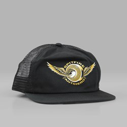 SPITFIRE X ANTI HERO CLASSIC EAGLE TRUCKER BLACK